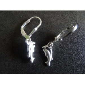 Oorhangers zilver dolfijnen