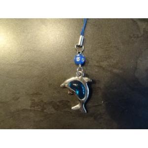 Gsm/tas hanger dolfijn blauw