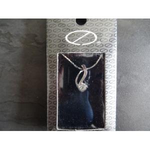 Ketting zilverkleurig met hanger nr. 2