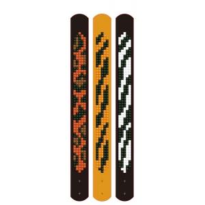 Diamond Dotz set van 3 armbanden: animal prints