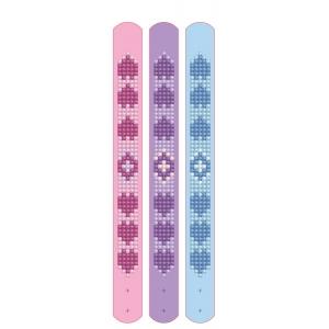 Diamond Dotz set van 3 armbanden: liefde