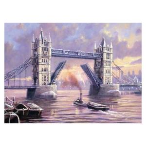 Schilderen op nummer 40x30cm: Tower bridge